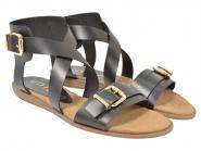UNISA Sandale Angie schwarz