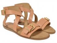 UNISA Sandale Angie caramel