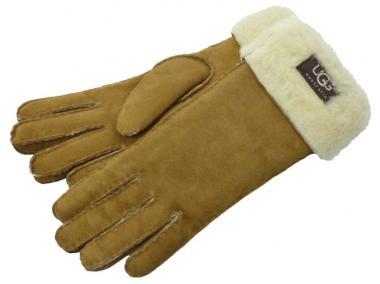 UGG Handschuhe Turn Cuff chestnut
