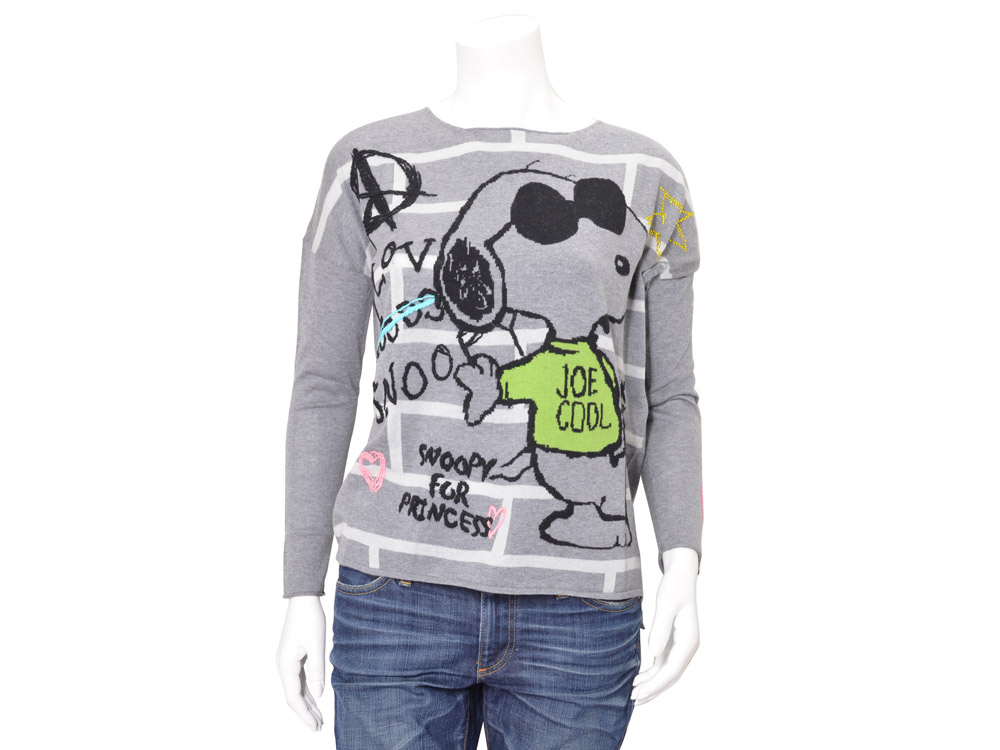princess goes hollywood pullover snoopy. Black Bedroom Furniture Sets. Home Design Ideas