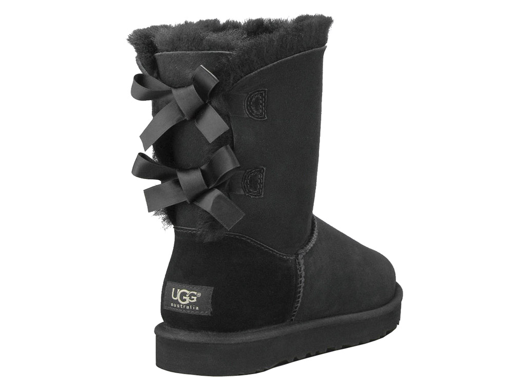 ugg boots bailey bow schwarz. Black Bedroom Furniture Sets. Home Design Ideas